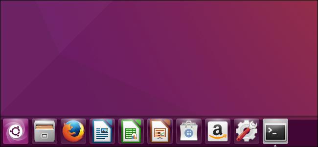 ubuntu bara in partea de jos a ecranului