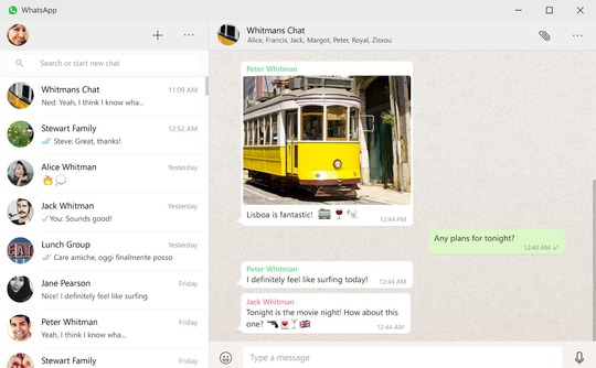 whatsapp pentru windows si mac os