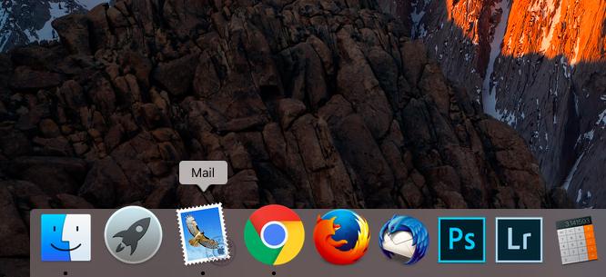 aplicatia mail mac os x