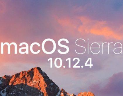 Apple a lansat macOS Sierra 10.12.4 pentru utilizatorii de Mac