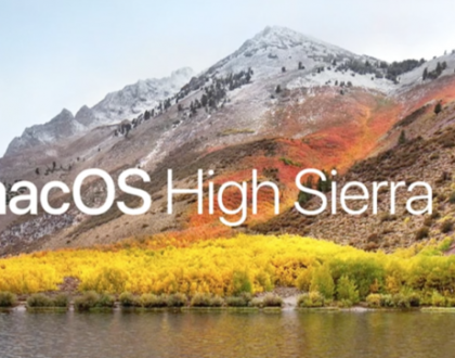 Noua versiune de macOS se numește High Sierra