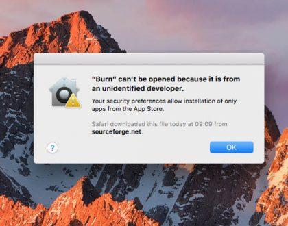 Cum puteți deschide și instala aplicații terțe de la dezvolatori neidentificați în Mac OS X