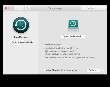 Cea mai ușoară și gratuită modalitate de backup (copie de rezervă) pentru Mac