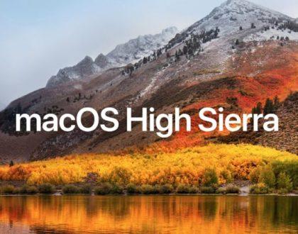 Cele mai recente știri despre data lansării MacOS High Sierra