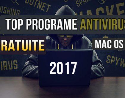 Top 3 programe antivirus gratuite pentru Apple macOS X 2017 - Sophos, BitDefender și Avast