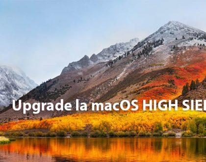 Cum să faceți upgrade la macOS High Sierra