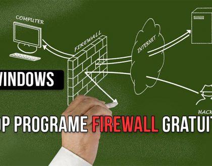 Cele mai bune programe de tip firewall disponibile gratuit