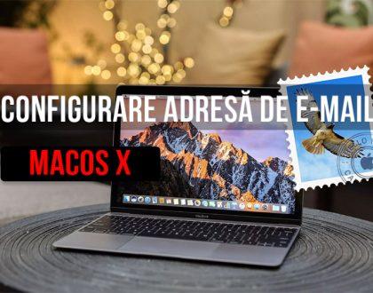 Cum se configurează adresele de e-mail pe un Mac