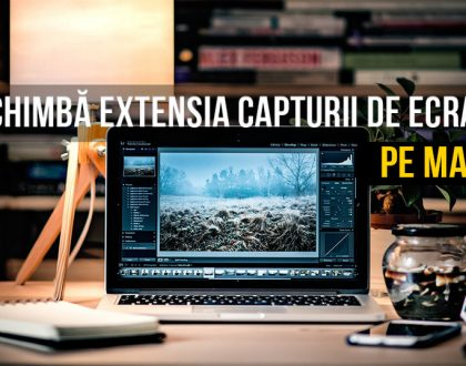 Cum puteți schimba formatul/extensia capturii de ecran pe Mac