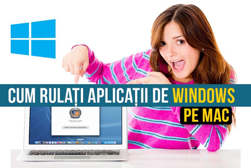 4 modalități de a rula aplicații de Windows pe Mac