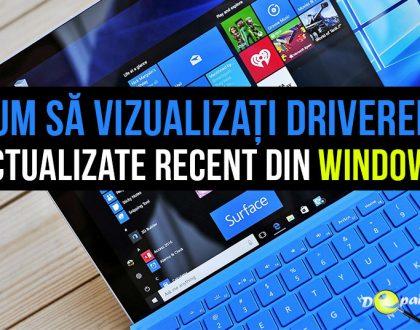 Cum să vizualizați toate driverele actualizate recent în Windows