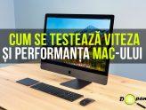 Cum se testează viteza și performanța CPU-ului, GPU-ului și a hard disk/ssd-ului pe Mac