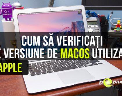 Cum să verificați ce versiune de MacOS utilizați