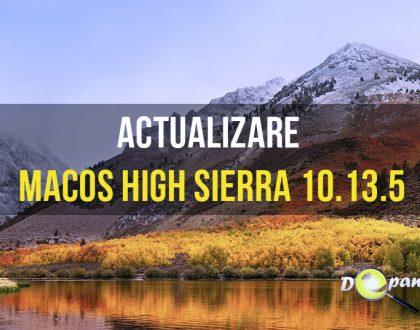 Apple a lansat actualizarea macOS High Sierra 10.13.5 - Macul dvs. se poate conecta la mesajele din iCloud