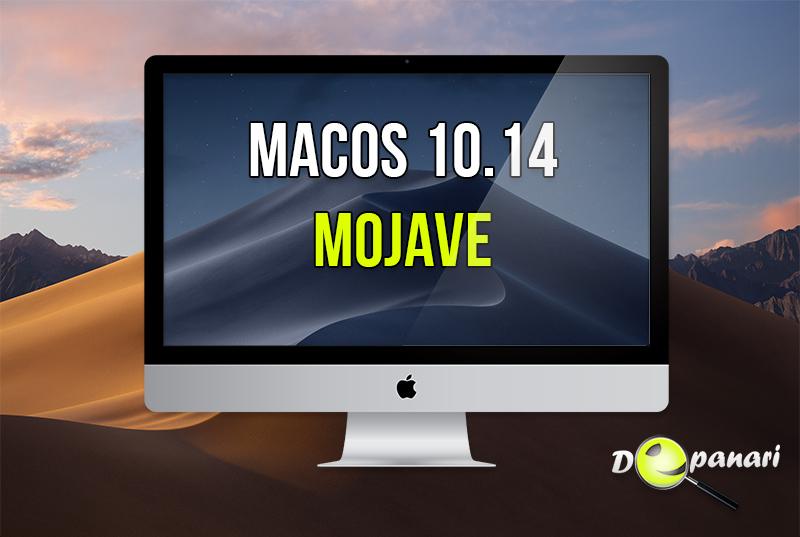 Noi caracteristici în macOS 10.14 Mojave