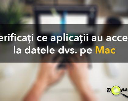 Cum să vedeți ce aplicații au acces la datele dvs. pe Mac