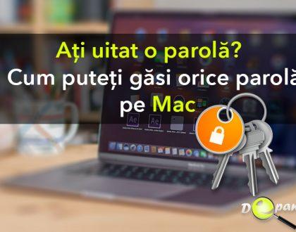 Cum pot afla / găsi orice parolă pe Mac