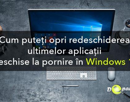 Cum puteți opri redeschiderea ultimelor aplicații deschise la pornire în Windows 10