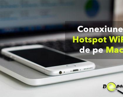Cum se poate crea o conexiune de internet Hotspot WiFi de pe Mac