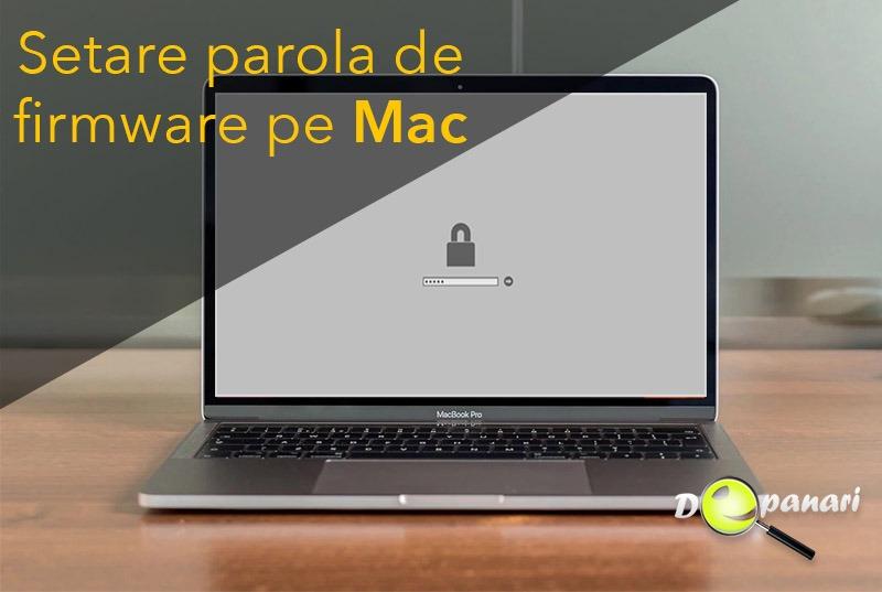 Cum să setați parola de firmware pe Mac