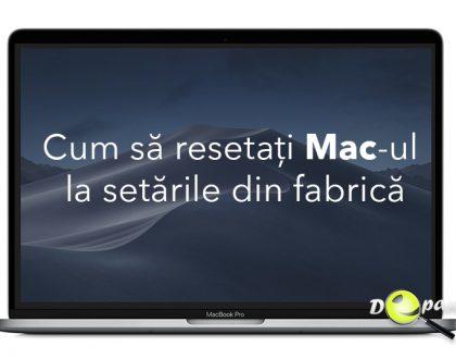 Cum să resetați / restaurați Mac-ul la setările din fabrică
