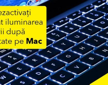 Cum puteți dezactiva automat iluminarea tastaturii după inactivitate pe Mac
