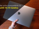 Lista Mac-urilor compatibile cu MacOS 10 15 Catalina