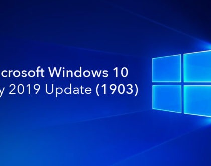 actualizarea Windows 10 May 2019 Update 1903 disponibilă acum