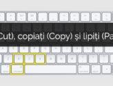 Cum să tăiați (Cut), copiați (Copy) și să lipiți (Paste) pe Mac