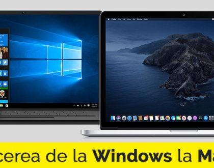 Sfaturi utile pentru trecerea de la Windows la Mac