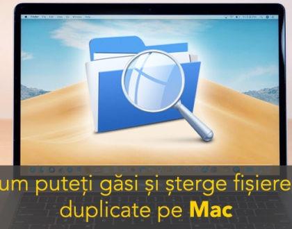 Cum puteți găsi și șterge gratuit fișierele duplicate de pe Mac