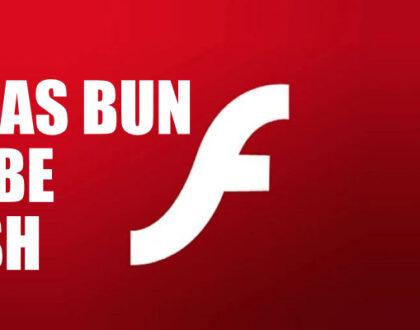 Sfârșitul unei ere flash, suportul Adobe Flash s-a încheiat